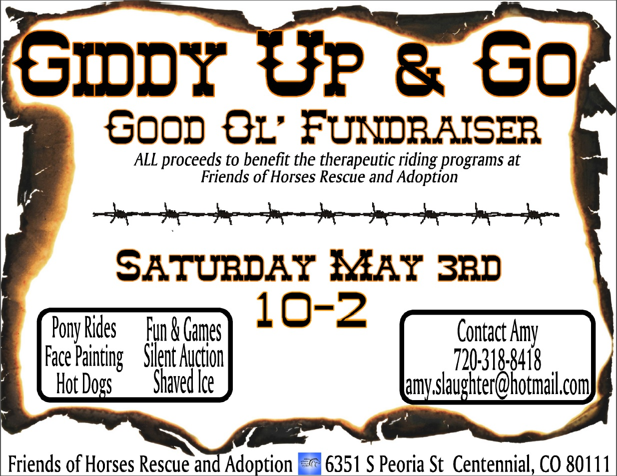Giddy Up and Go Therapeudic Riding Fundraiser 2014