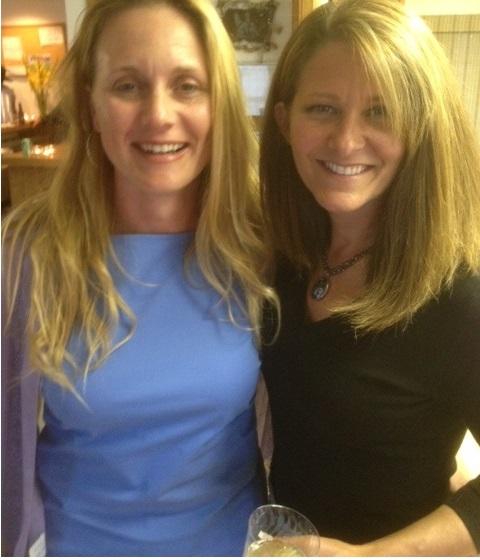 Wine Sip Angel and Mimi